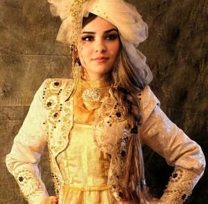 Arabik style of Tajik wooman