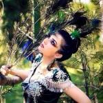 Dark Tajik wooman
