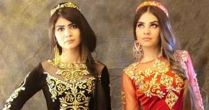 Holiday dress Tajik woman