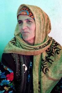 Old tajik village wife - woman