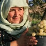 Tajik garden woman
