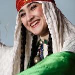 Tajik artist woman