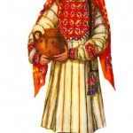 Historical tajik dress