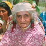 Tajik old woman - grandmather