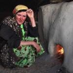 Viilage Tajik woman