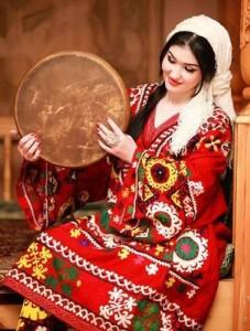 Photo Tajik girl in pictures