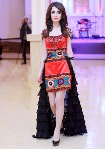 Tajik teenager girl