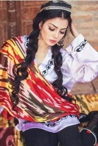 Picture of Tajik girl