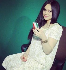 Online Tajik girl