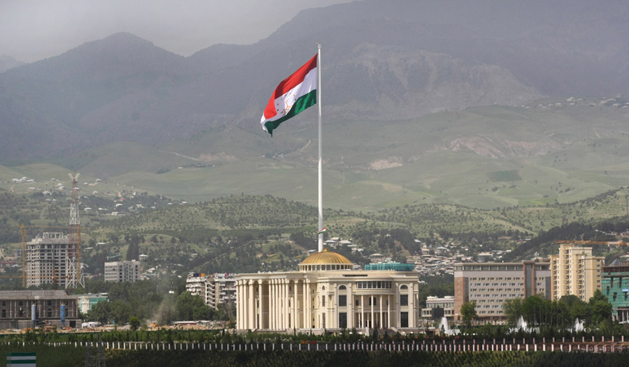 Palace of Nations in Tajikistan