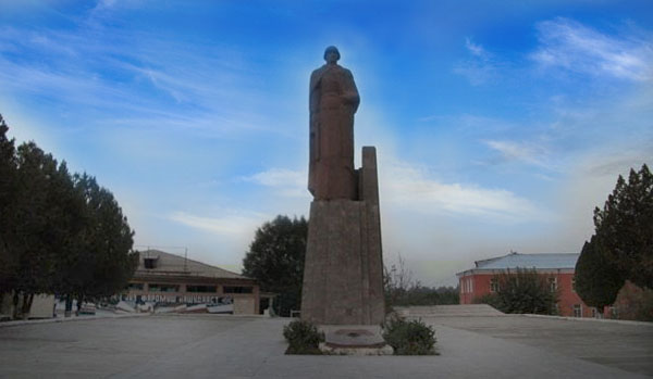 Центр Ганчинского района