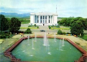 Старый  Опера Балет города Душанбе