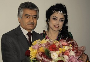 Ортик Кодиров и Ситораи Азими