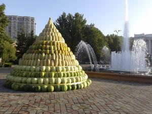 Полощад 800 лет Москвы в Душанбе