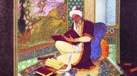 Фотоа Таджикского поэта в средних веках