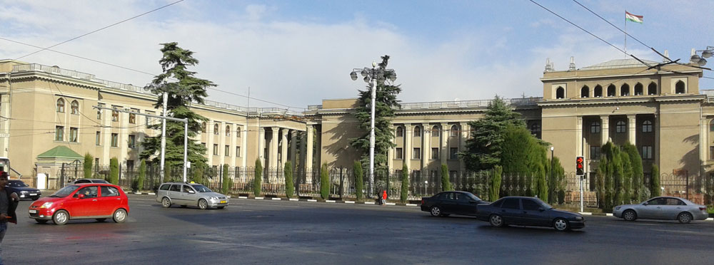 Photo Building The Government of Tajikistan (House) 2015.