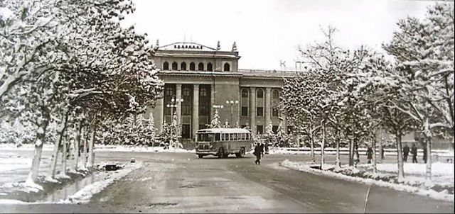 House Government of Tajikistan in 1960