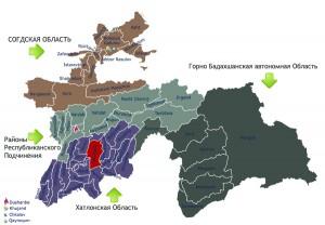 Карта Дангара