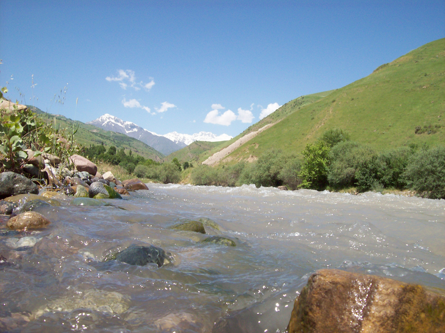 Photo Shahrinav river (Qaratog)
