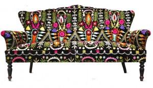 Диван с таджикским орнаментом
