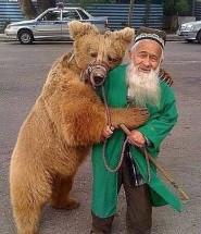 Медведь Мария в Душанбе