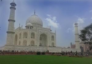 Таджмахал в Индии