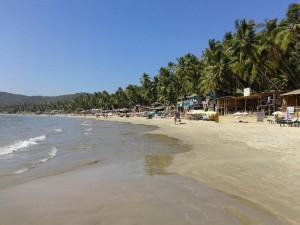 Пляж Гоа в Индии