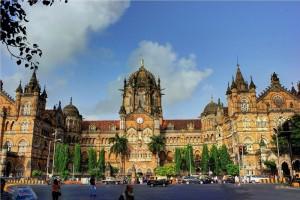 Вокзал города Мумбай