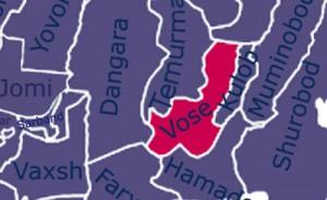 Карта Восейского района