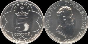 Coins Tajik