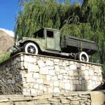 Cars in Khorugh 1945