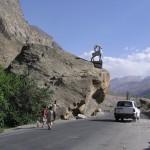The road towards Khorog