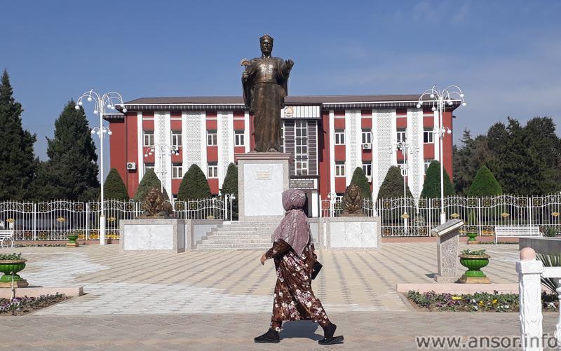 Административное здание района Рудаки