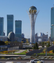 Central Downtown Astana, Kazakhstan