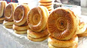Bread Tajik named Samarkandi
