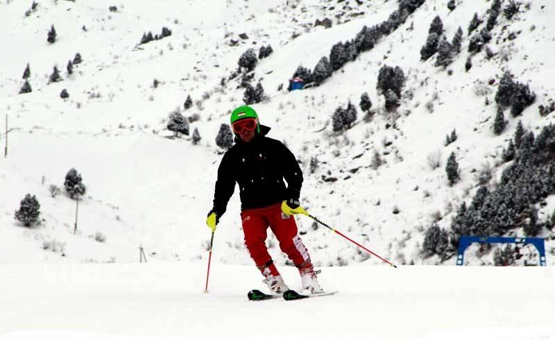 Лыжа  В Таджикистане