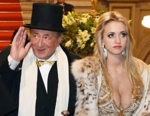 Старик богач с любовницей
