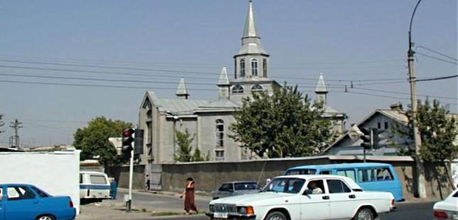 Немецкий Церковь в Душанбе
