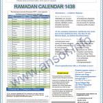 Расписание в Узбекистане месяц Рамадан 2018