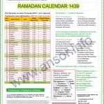Рамадан Таджикистан Расписание, Календарь 2018