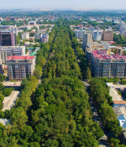 Бишкек Летом (ФОТО)