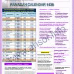 Расписание Рамадан в Астане 2019 году
