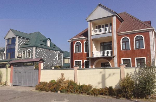 Дома элитные в таджикистане
