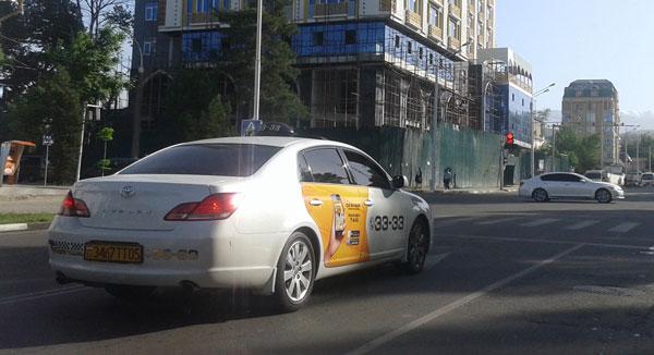 Такси Душанбе
