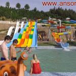"""New Aquapark of Dushanbe """"OBSHORON"""""""