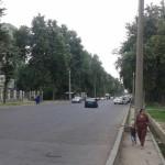 Улица Маяковского в городе Душанбе
