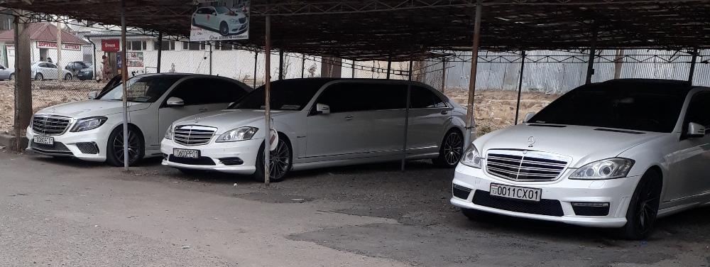 Rent a car dushanbe Mercedes