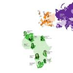 Карта миллиардеров мира 2017