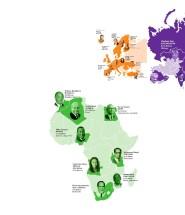 Карта богатейших людей мира