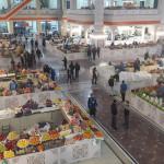 Mehrgon market in Dushanbe – modern bazaar